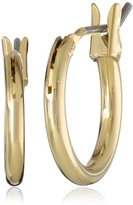 """1928 Collection Signature 1928 """"Collection"""" Gold-Tone Small Hoop Earrings"""