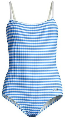 Solid And Striped The Nina-Azure One-Piece Swimsuit