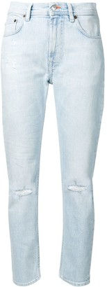 Acne Studios Melk light ripped jeans