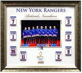 Steiner Sports New York Rangers Retired Number 20'' x 24'' Collage