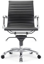 Bronx Northfleet Conference Chair Ivy Color: Black