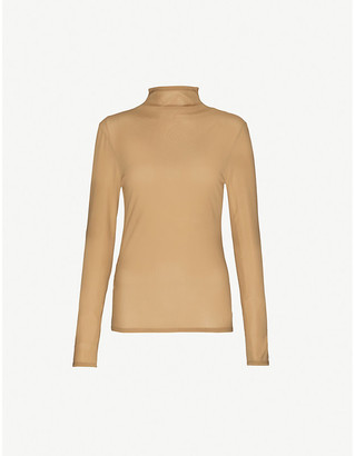 Collina Strada Cardio World high-neck woven top