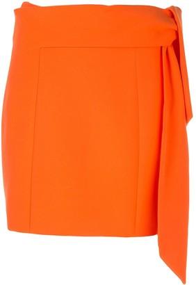 Alice + Olivia Bow Tie Mini Skirt