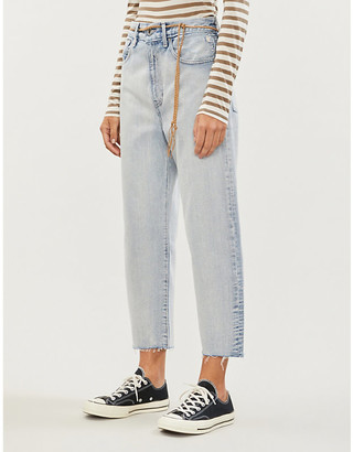 Levi's Made & Crafted Barrel boyfriend high-rise jeans