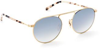 Krewe Rampart Aviator Sunglasses