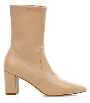Stuart Weitzman Women's Landry Leather Sock Boots