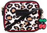 Marc Jacobs Leopard Cherry Charm Crossbody Bag