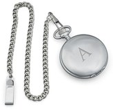 Cathy's Concepts Silver Plate Monogram Pocket Watch