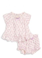 Hatley Infant Girl's Chick Print Envelope Back Top & Bloomers