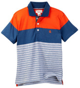 Original Penguin Striped Polo (Toddler Boys)