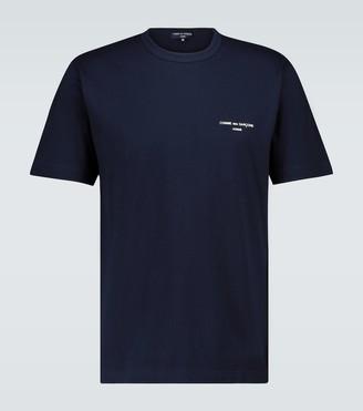 Comme des Garçons Homme Short-sleeved cotton T-shirt