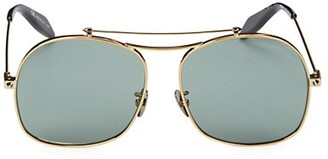 Alexander McQueen 59MM Aviator Sunglasses