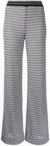 Missoni zig-zag flared trousers