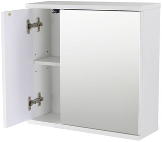 Lloyd Pascal Wave White Wall Cabinet