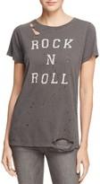 Daydreamer Rock N Roll Distressed Tee