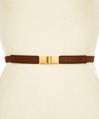 Kollie More Women's Belts Brown - Brown Slide-Buckle Adjustable Belt