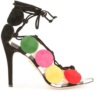 Charlotte Olympia Colour Block Sandals