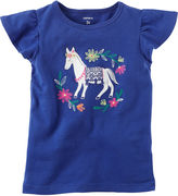 Carter's Short Sleeve T-Shirt-Preschool Girls