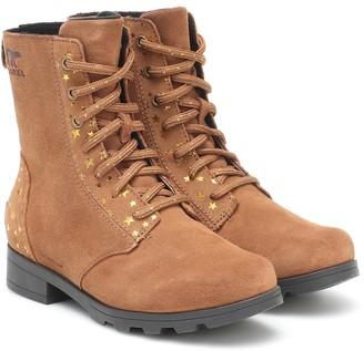Sorel Kids Emelie suede ankle boots