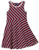 Toobydoo Shae Striped Skater Dress (Toddler, Little Girls, & Big Girls)