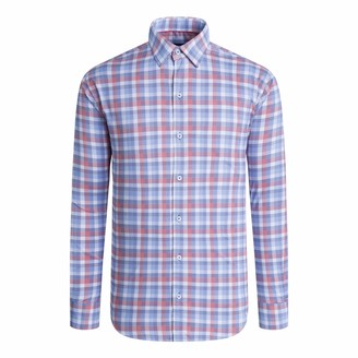 Bugatchi Men's Shaped Performance Shirt