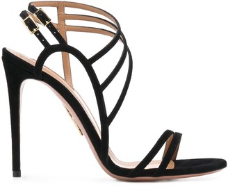 Aquazzura Strappy Stiletto Sandals
