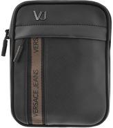 Versace Logo Shoulder Bag Black