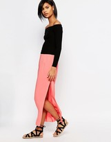 Vero Moda Maxi Skirt with Side Split