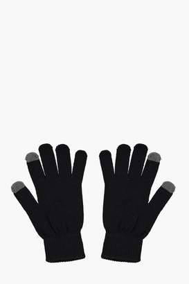 boohoo Thermal Touch Screen Gloves