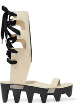 Rick Owens Lace-up leather sandals