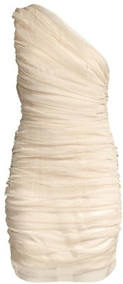 Mestiza New York Savannah Vivienne Ruched One-Shoulder Mini Dress