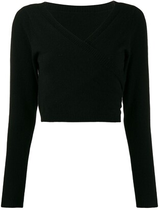 P.A.R.O.S.H. V-neck jumper