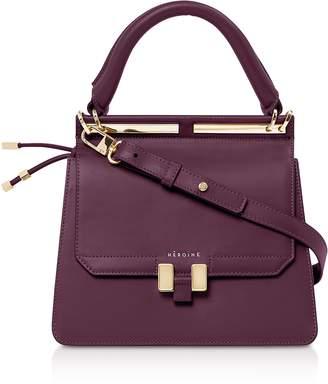 Maison Heroine Berry Leather Marlene Mini Tablet Satchel Bag