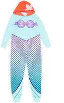 Briefly Stated The Little Mermaid Hooded Jumpsuit - Women