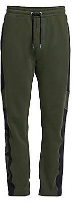 Kenzo Men's Mesh-Side Cotton Tapered Joggers