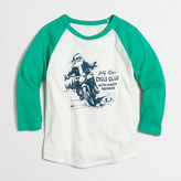 J.Crew Factory Boys' motorcycle Santa storybook T-shirt