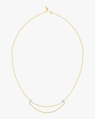Swati Dhanak Floating Chain Necklace