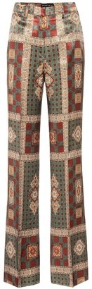 Etro High-rise printed pants