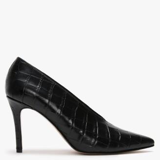 Daniel Afermin Black Court Shoes