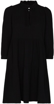 HONORINE Giselle three-quarter sleeve minidress