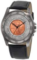 August Steiner Men's Wheat Penny Antique Copper Collectors Coin Watch CN001S-AS