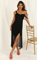 Showpo Look At Us dress in black lace - 6 (XS) Hens Night