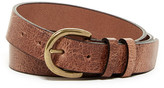 Tailorbyrd Jean Horseshoe Buckle Leather Belt
