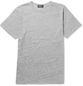A.P.C. Mélange Cotton-jersey T-shirt