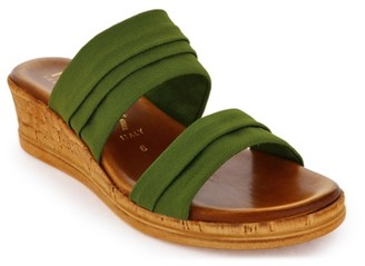 Italian Shoemakers Mady Wedge Sandal