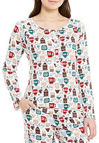 Sleep Sense Petite Coffee & Tea Sleep Top