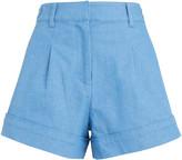 Derek Lam 10 Crosby Mari A-Line Denim Shorts