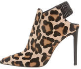 Altuzarra Pointed-Toe Ponyhair Booties