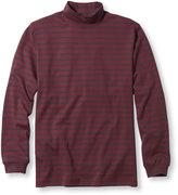 L.L. Bean Interlock Mock-Turtleneck, Traditional Fit Stripe