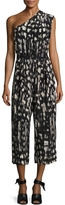 Tracy Reese Women's Printed Silk Jumpsuit